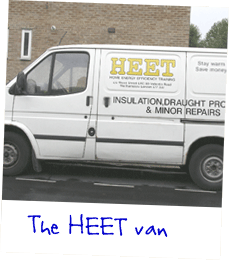 Picture: The HEET van